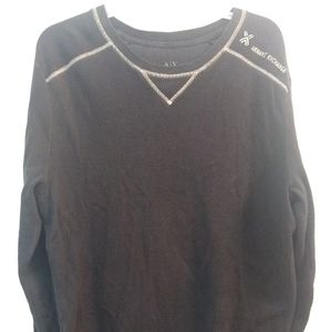 Armani Exchange Men's Size Large Thermal Long Slee